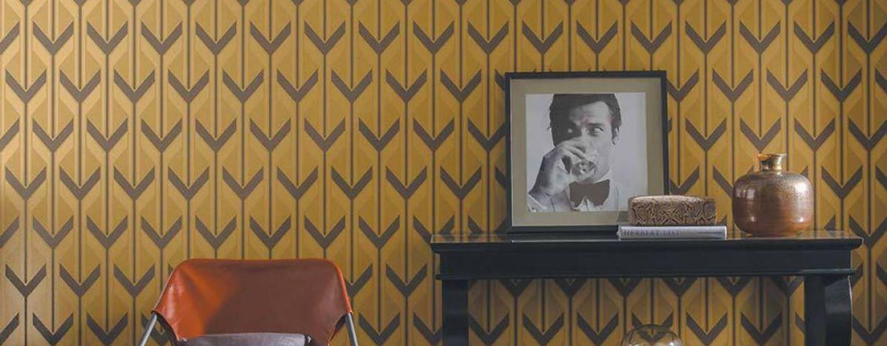 Carta da parati degli anni 70 Modern walls & floors