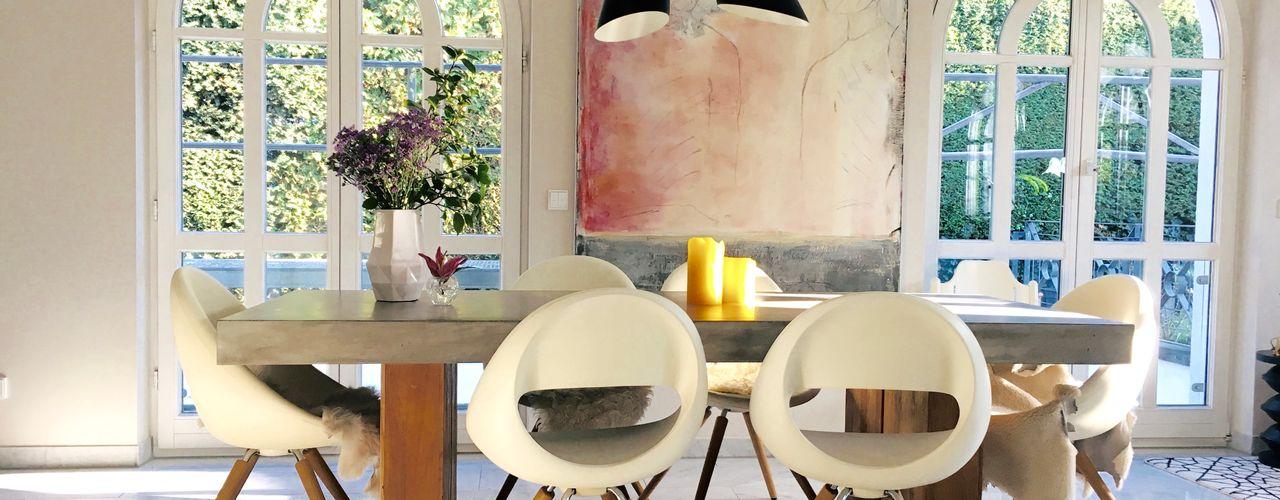 Villa modernisieren Freya Suhre - Einrichtungsberatung & Feng Shui Moderne Esszimmer