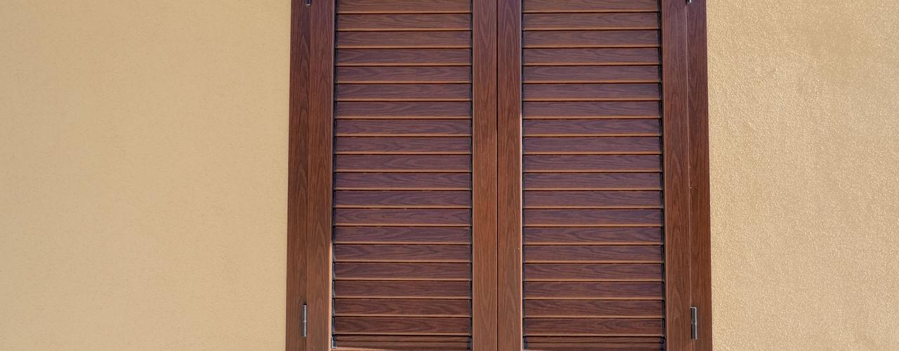 LE.ALL.FER. S.r.l. Shutters Aluminium/Zinc Wood effect