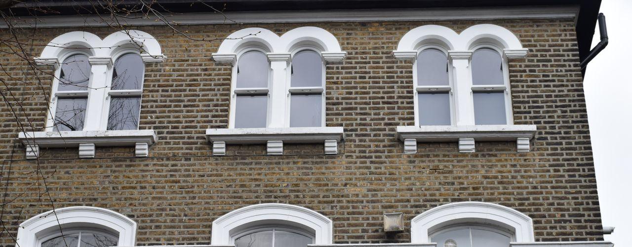 Sash windows portfolio Repair A Sash Ltd Wooden windows Engineered Wood White