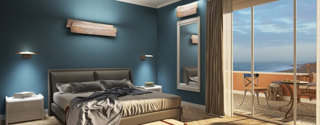 Le Fasi di una Consulenza Online ARTE DELL'ABITARE Camera da letto moderna