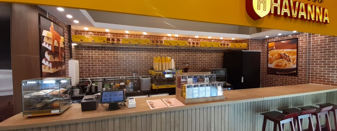 Espresso Havanna – Galeria Conceito – Itaim Bibi – São Paulo – SP. AVR Studio Arquitetura