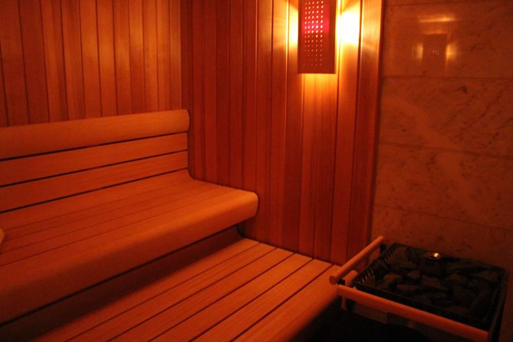 Sauna von Architekten Graf + Graf Skandinavisch