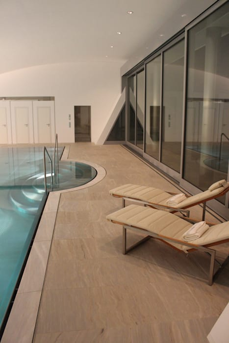 Spa und Pool Moderne Pools von Architekten Graf + Graf Modern