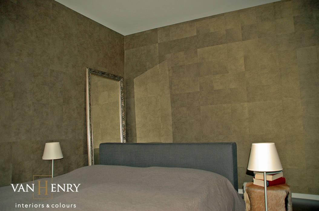 Penthouse: klassische Schlafzimmer von vanHenry interiors & colours