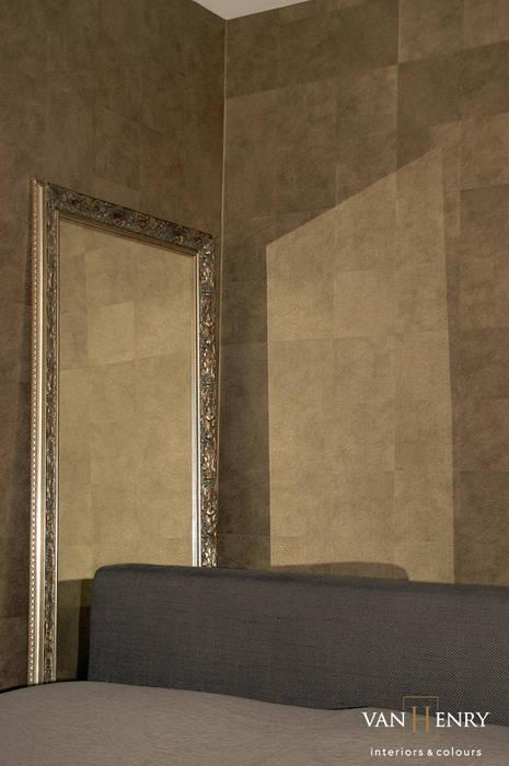 Penthouse:  Schlafzimmer von vanHenry interiors & colours