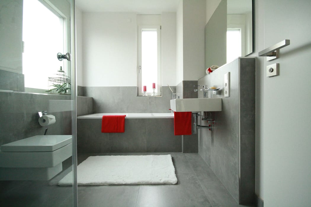 moderne Villa homify Moderne Badezimmer