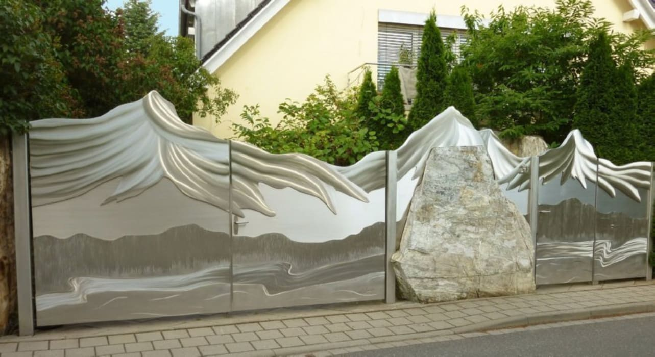 eclectic Garden by Edelstahl Atelier Crouse - Stainless Steel Atelier
