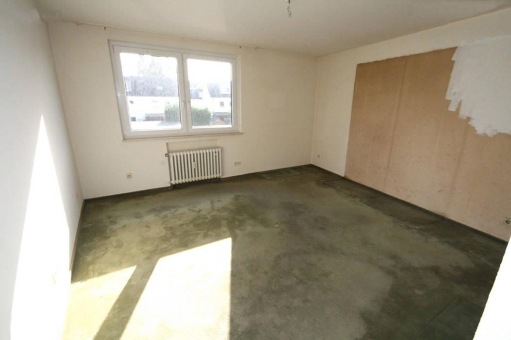 Eigentumswohnung Duisburg:  Schlafzimmer von raumessenz homestaging