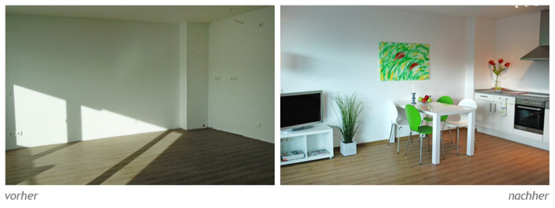 Musterwohnung: modern  von Homestaging,Modern