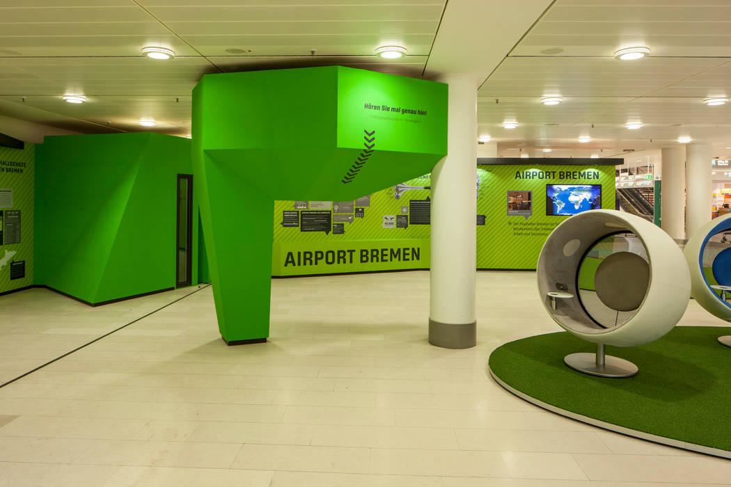 Die Soundwolke für das Klangerlebnis:  Flughäfen von Hellmers P2   Architektur & Projekte