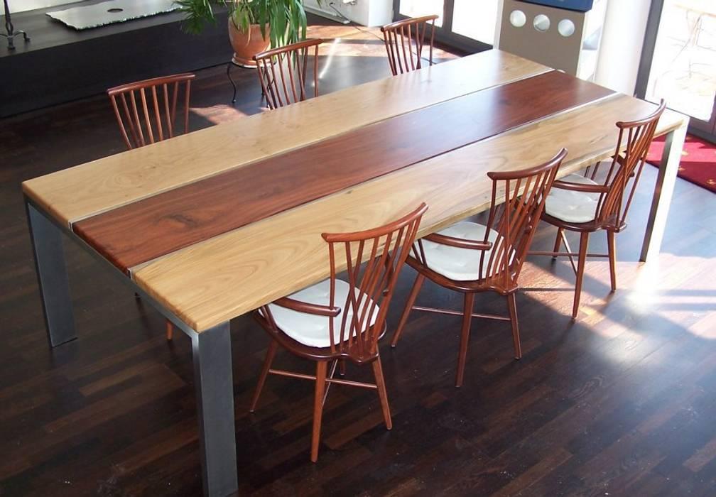 Loft design: esszimmer von edelstahl atelier crouse - individuelle ...