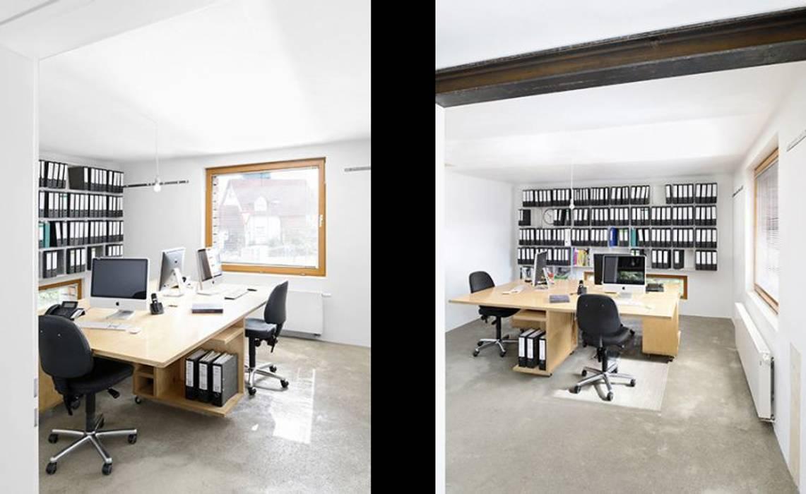 Escritórios modernos por [lu:p] Architektur GmbH Moderno