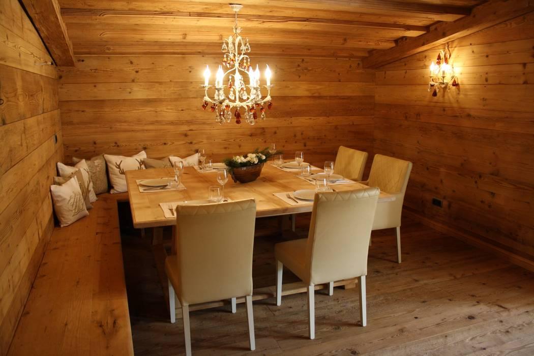 Столовая комната в стиле кантри от homify Кантри