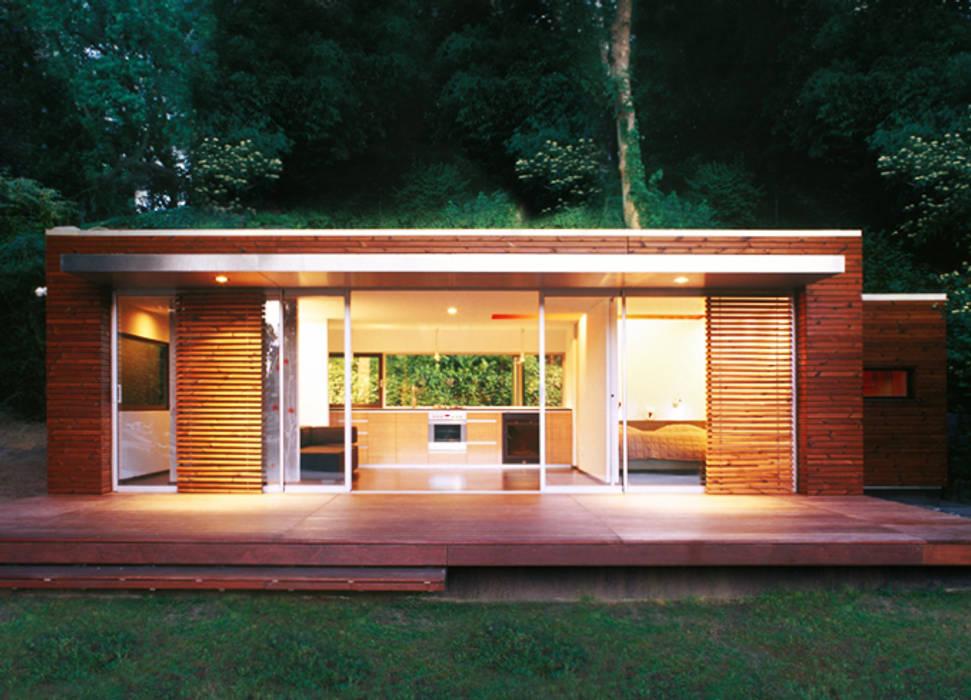 Sommerraum am Wasser ZappeArchitekten Häuser