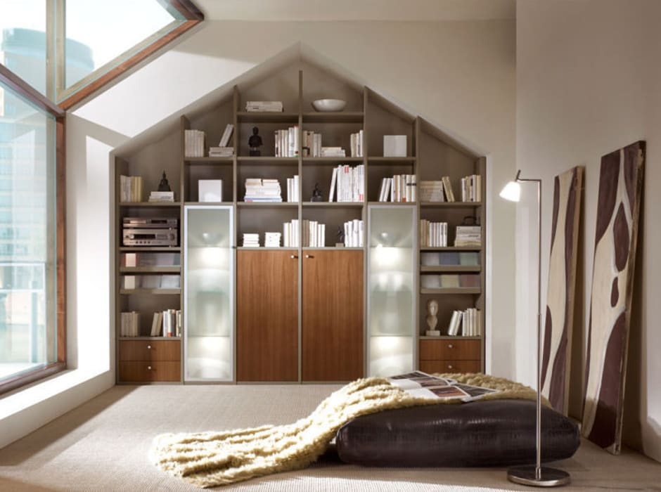 Eclectic style bedroom by RAUMAX GmbH Eclectic