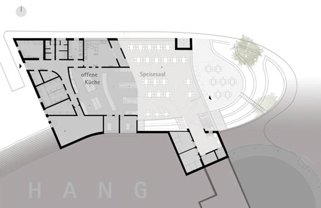 Mensa Waldcampus Schulen von andreas gehrke . architekt