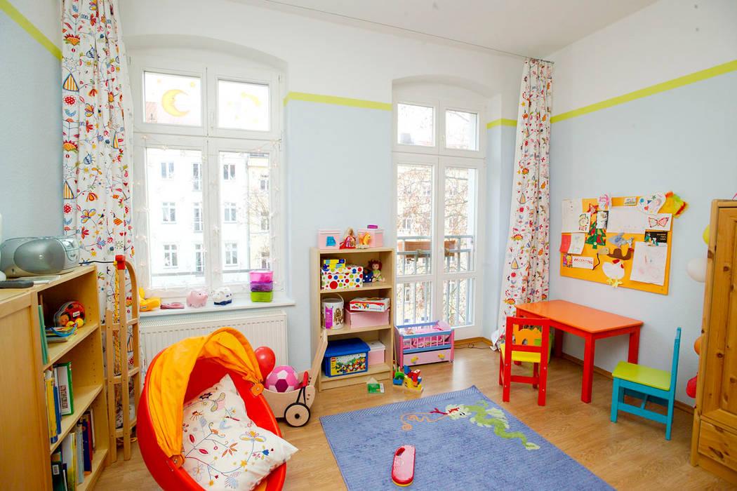 raumdeuter GbR Dormitorios infantiles de estilo ecléctico
