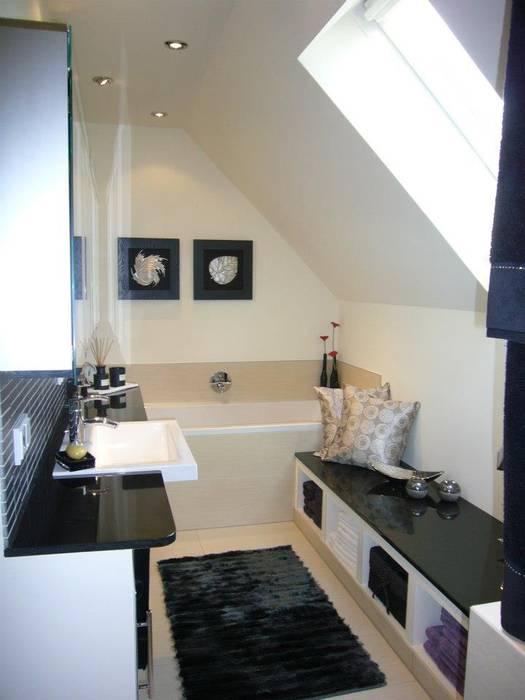 Bad mit dachschräge und dampfdusche: badezimmer von ...