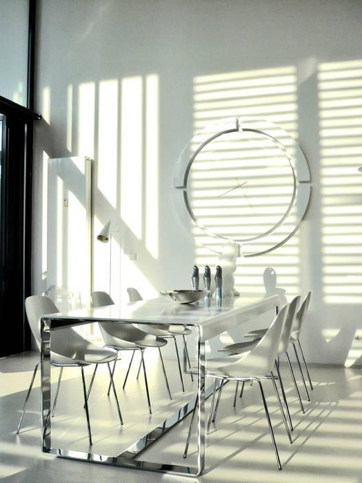 Loft Hafencity Hamburg Moderne Wohnzimmer von Andras Koos Architectural Interior Design Modern