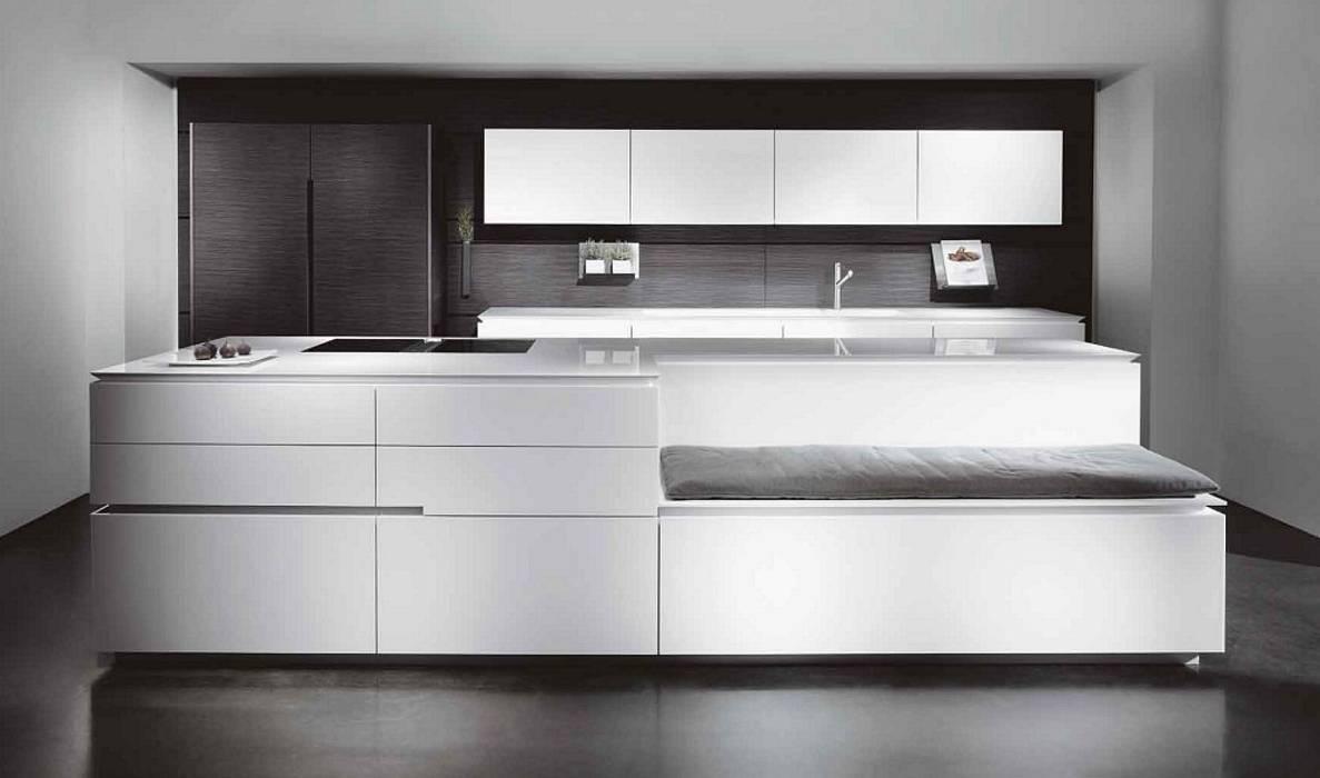 Luxusküche / italienische designerküche mit küchenoberfläche ...
