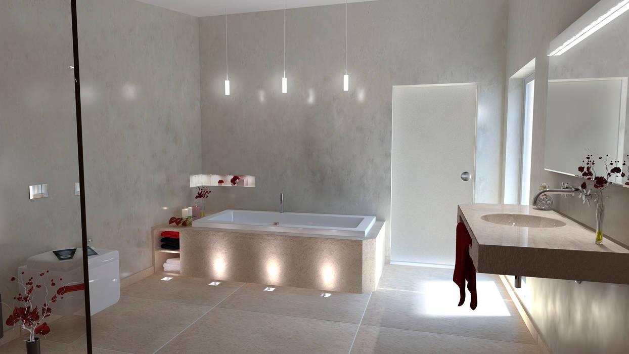 Bäder und Spa- Einrichtungen werden zu einer Oase der Ruhe und Entspannung Moderne Badezimmer von Design by Torsten Müller Modern