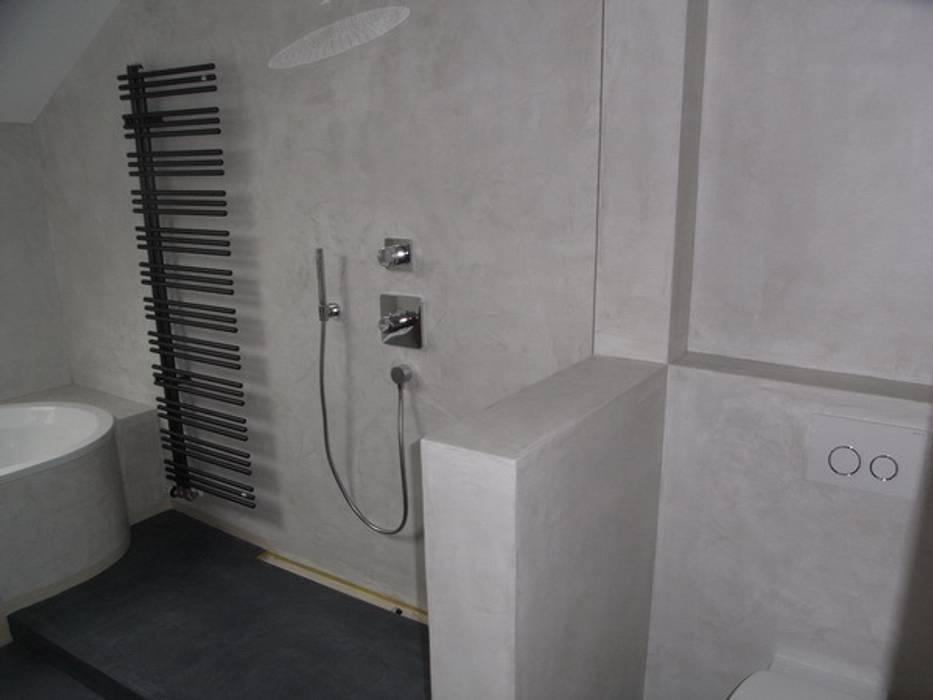 Bäder,küchen und böden in beton ciré: badezimmer von welschwalls.com ...