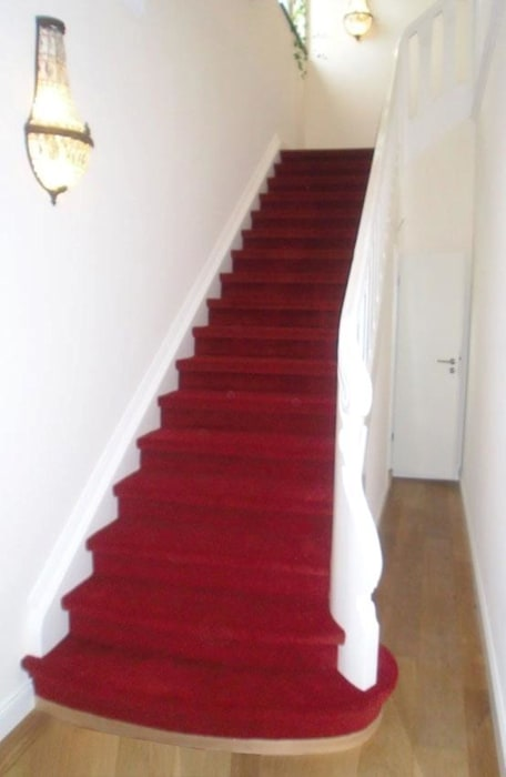 Sanierung der Villa J:  Flur & Diele von cordes architektur