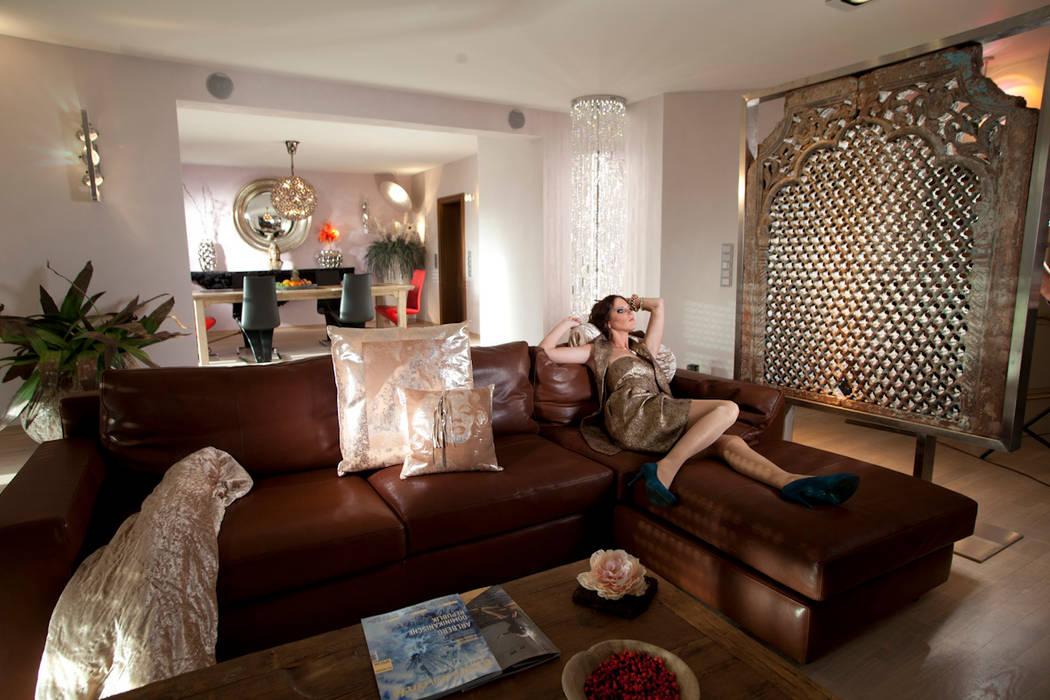 Ideen-Manufaktur mit Raum und Licht-Design für die Sinne Mediterrane Wohnzimmer von Design by Torsten Müller Mediterran