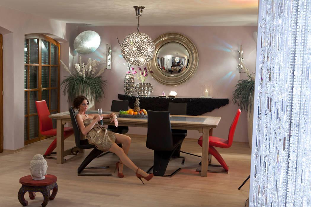 Ideen-Manufaktur mit Raum & Licht-Design für die Sinne: mediterrane Wohnzimmer von Design by Torsten Müller
