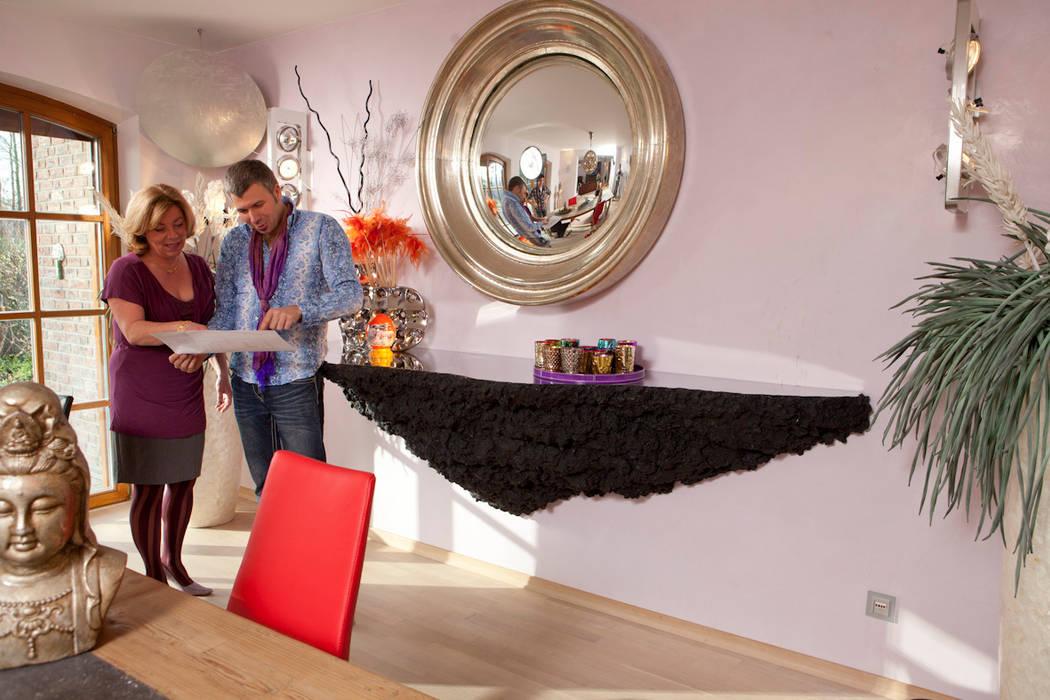 Lust am Außergewöhnlichen Mediterrane Wohnzimmer von Design by Torsten Müller Mediterran