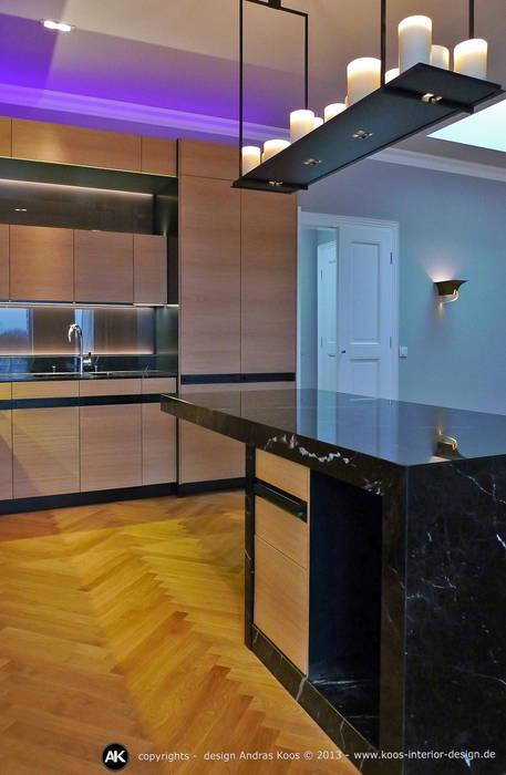Harvestehuder Weg - Penthouse Moderne Küchen von homify Modern