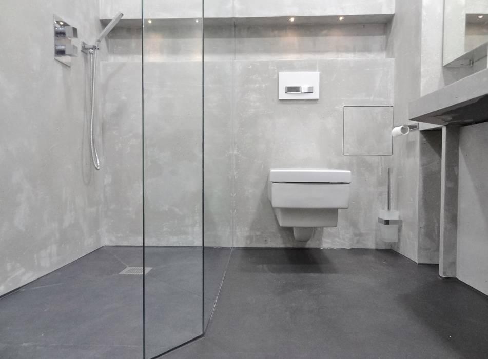Elternbad München: moderne Badezimmer von Wände mit Charakter