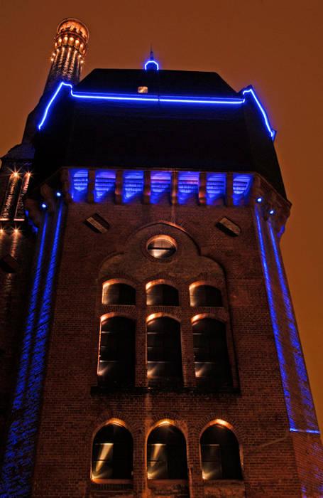 Wasserturm am Schlachthof, Wiesbaden:  Museen von  ligthing & interior design