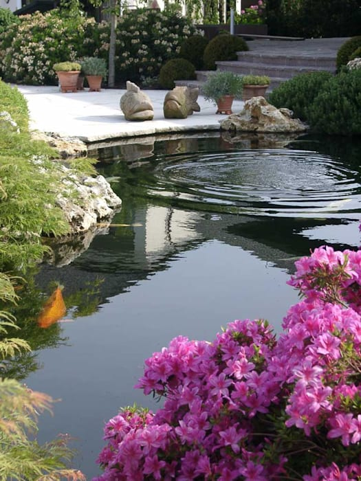 Kompletter Garten in Rain am Lech Moderner Garten von Kirchner Garten & Teich GmbH Modern