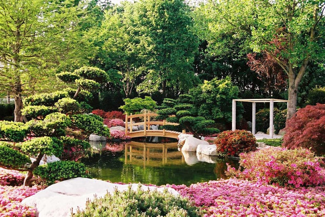 Modern Bahçe Kirchner Garten & Teich GmbH Modern