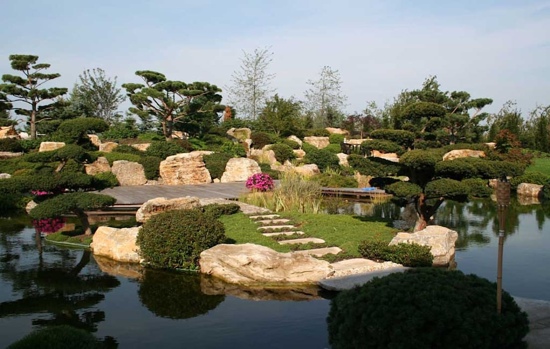 Jardines de estilo asiático de Kirchner Garten & Teich GmbH Asiático