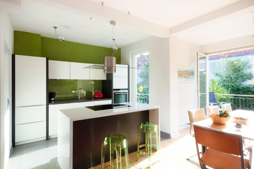 Küche Altbremer Haus Moderne Küchen von schulz.rooms Modern