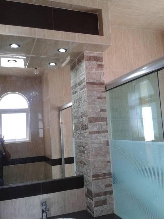 casa azahres DD Arquitectos Baños rústicos