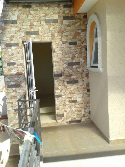 Entrada a la terraza Casas rústicas de DD Arquitectos Rústico