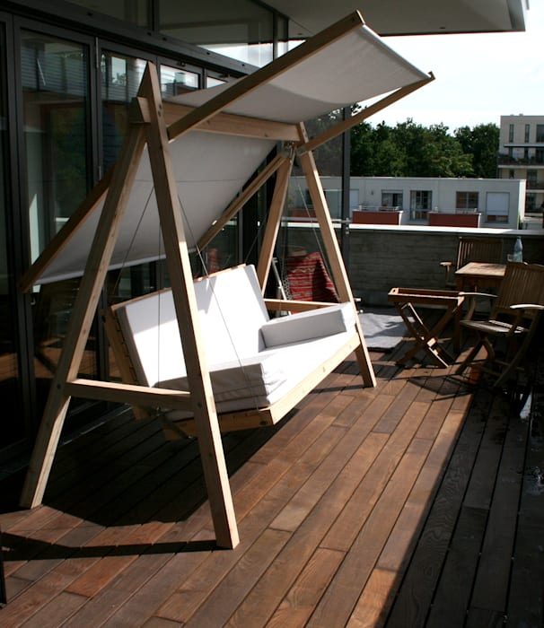 Pool22hollywoodschaukel Aus Holz Modern Von Pool22design