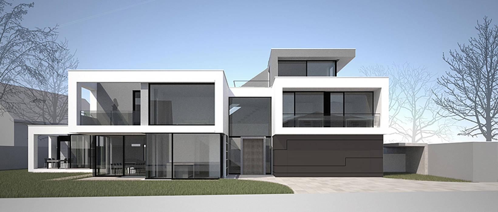 GALLIST ARCHITEKTEN GmbH Modern Houses