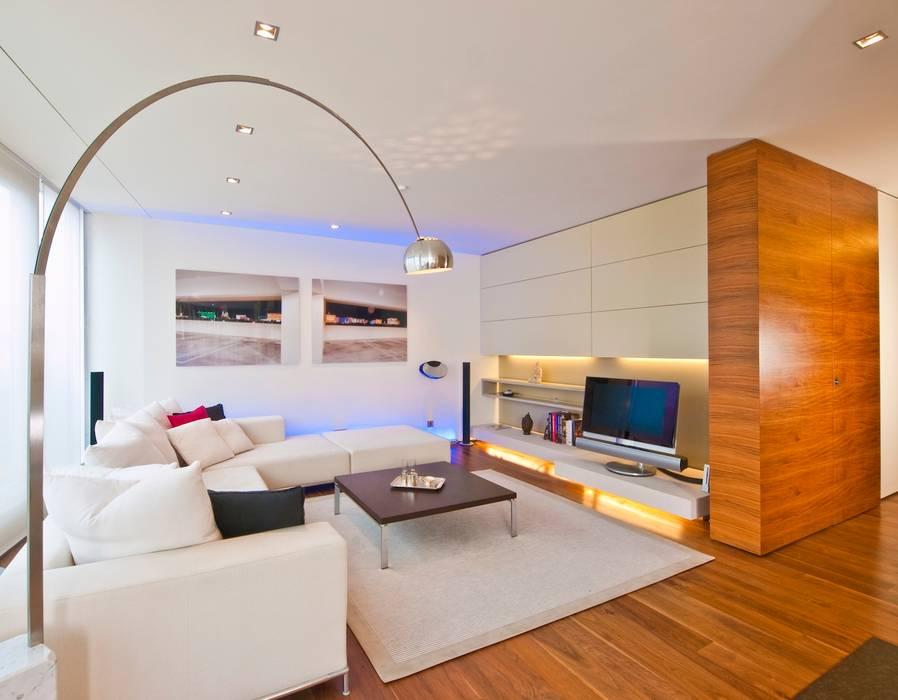 Wohnen exclusiv:  Wohnzimmer von innenarchitektur-rathke