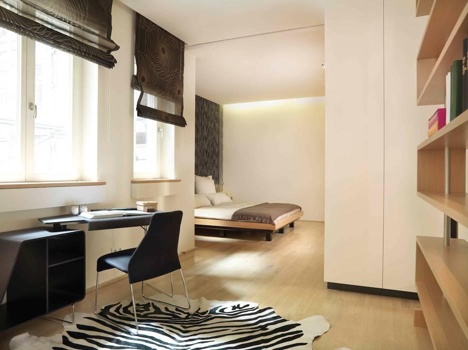 offenes Wohndesign:  Wohnzimmer von innenarchitektur-rathke