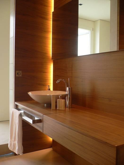 Gästebad:  Badezimmer von innenarchitektur-rathke