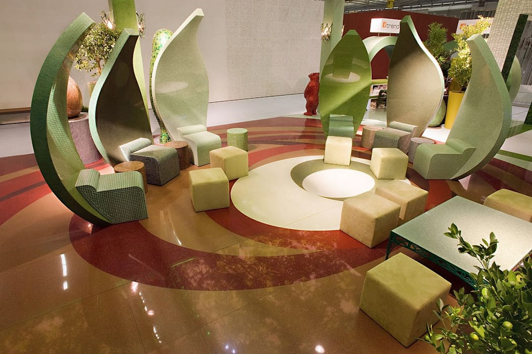 Trend Group Messestand:  Messe Design von trend group