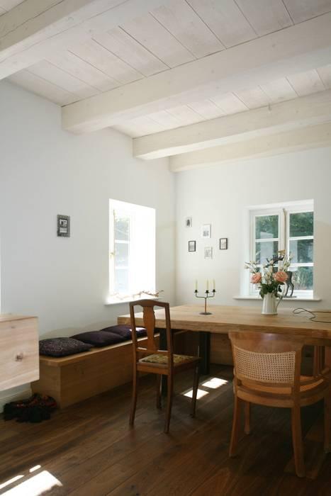 Die Gemutliche Sitzecke In Der Kuche Esszimmer Von Architektur Und