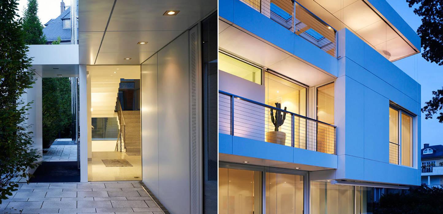 Bei Dämmerung Moderne Häuser von A-Z Architekten Modern