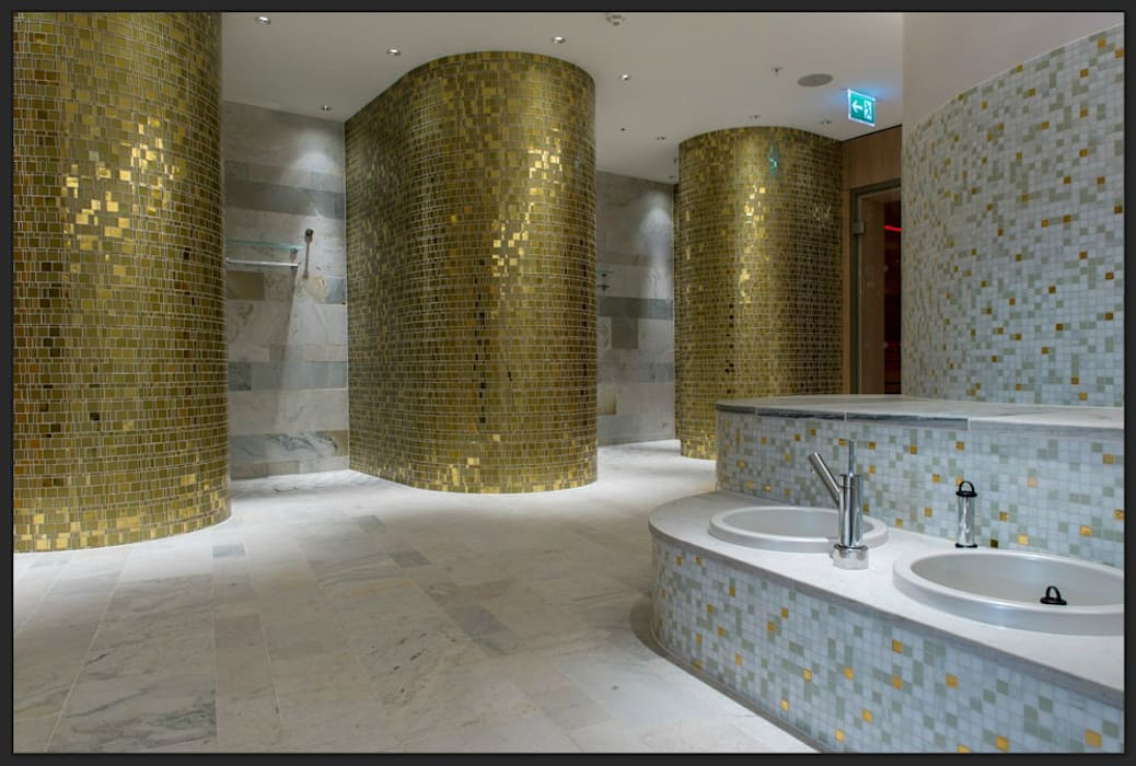 Hotel Intercontinental, Davos, Schweiz: modernes Spa von trend group