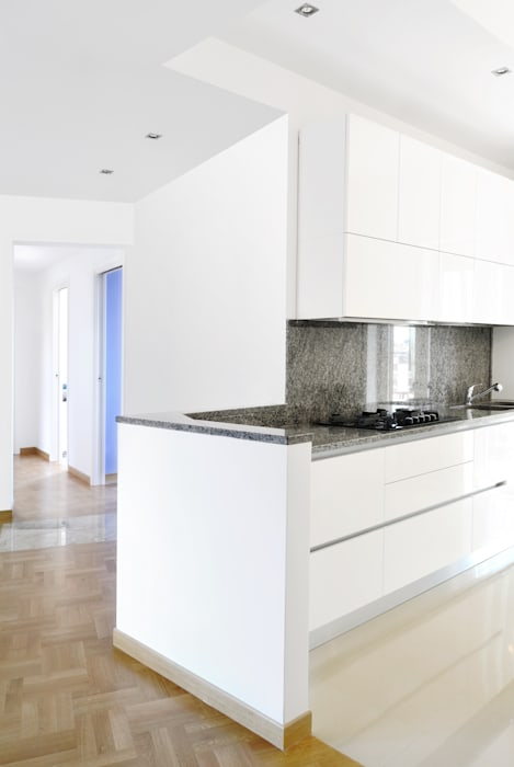 Cucina Cucina moderna di CAFElab studio Moderno